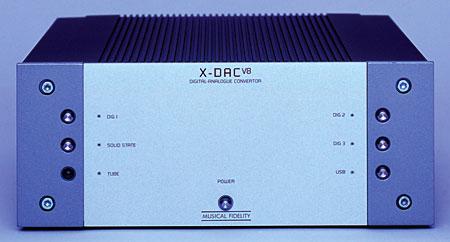 Musical Fidelity X-Ray V8 CD y X-Dac V8  208mfx