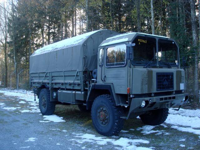 saurer truck bus SAURER4x4