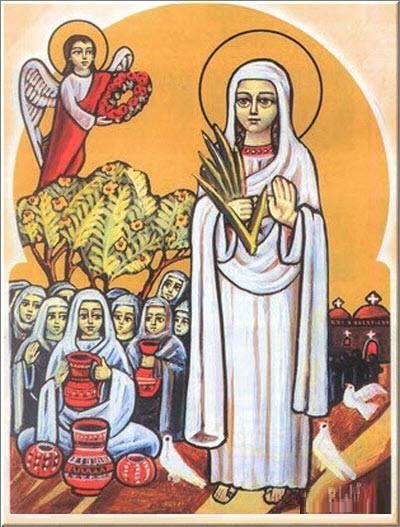 القديسة اربسيما العذراء A50