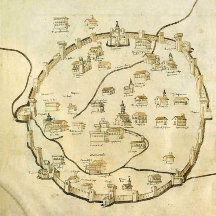 Milano: evoluzione della città Massaio