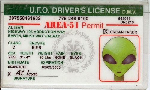 The United States of the Solar System: A.D. 2133 (Book One) - Page 36 Drivers-license-for-an-alien