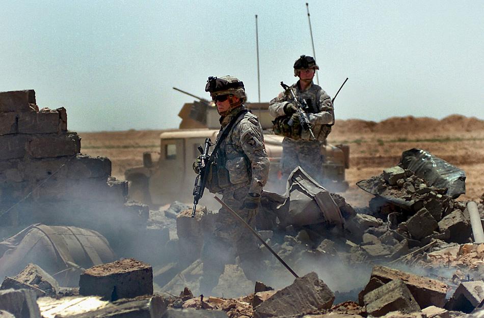 scène de combat 1-33-cav-operation-starlite-05-2011