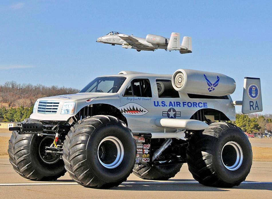 Fairchild A10C Thunderbolt II - Page 2 A-10-Monster-Truck