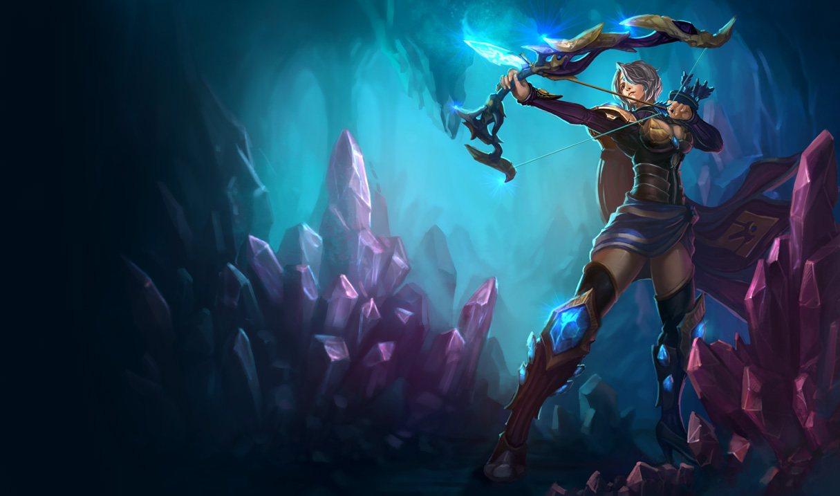 P.O League Of Legends Champs And Skins Ashe_Splash_5