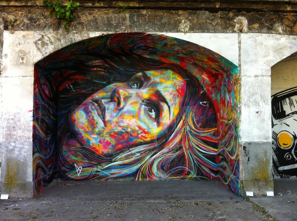 Someone  imagined it ... I like what he did  - Page 4 Street-Art-by-David-Walker-at-IN-SITU-Art-Festival-Aubervilliers-France-1