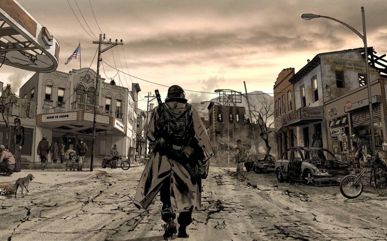 Ulica Strefa_apokalipsy_postapo_knight