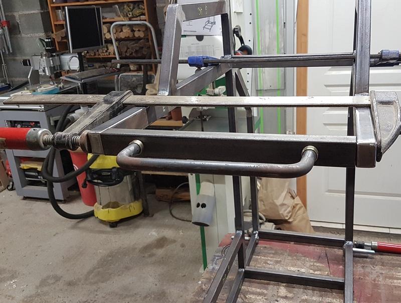 [Terminé] - Fabrication de 2 chariots pour poste à souder 022