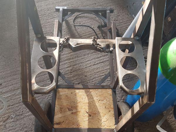 [Terminé] - Fabrication de 2 chariots pour poste à souder 079