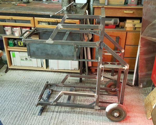 [Terminé] - Fabrication de 2 chariots pour poste à souder 088