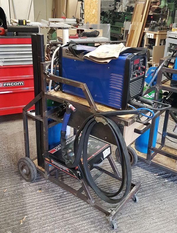 [Terminé] - Fabrication de 2 chariots pour poste à souder 103