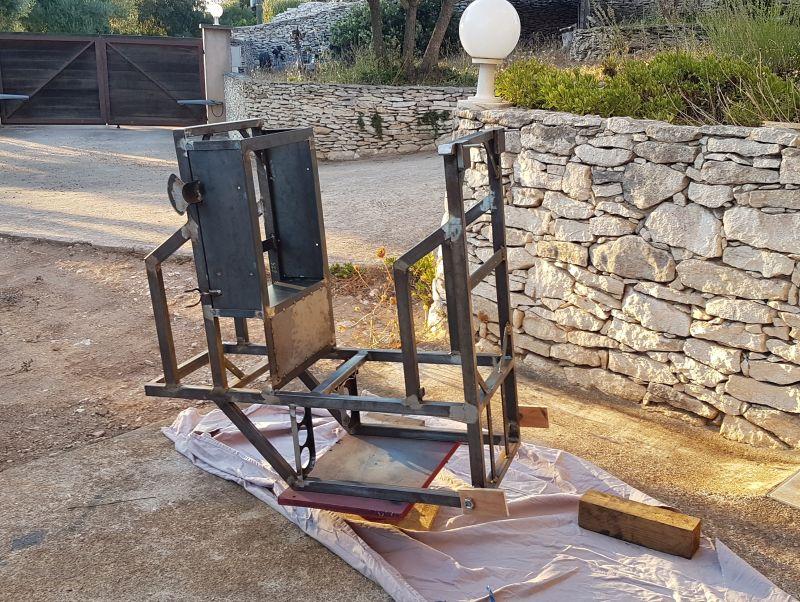 [Terminé] - Fabrication de 2 chariots pour poste à souder 107