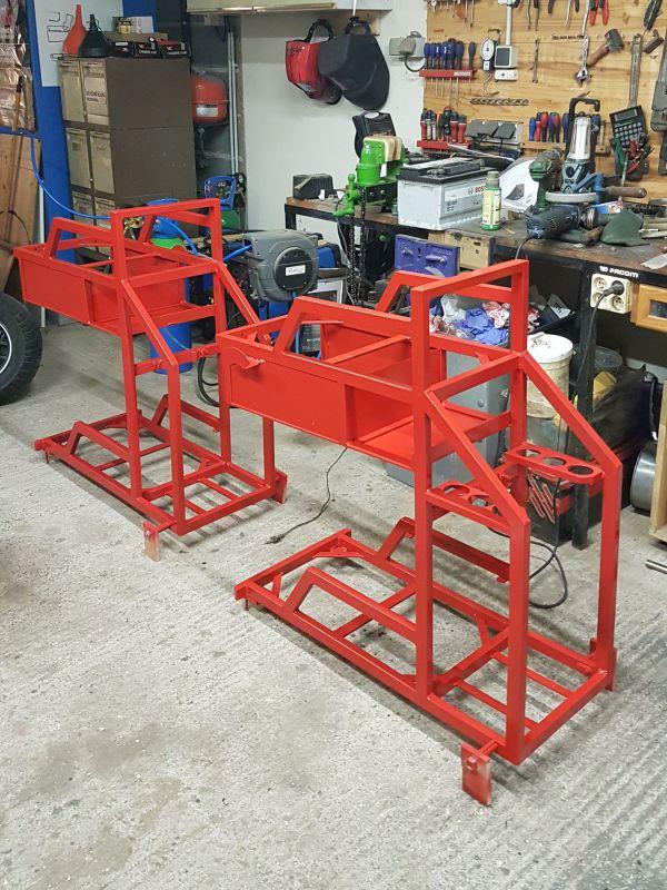 [Terminé] - Fabrication de 2 chariots pour poste à souder 109