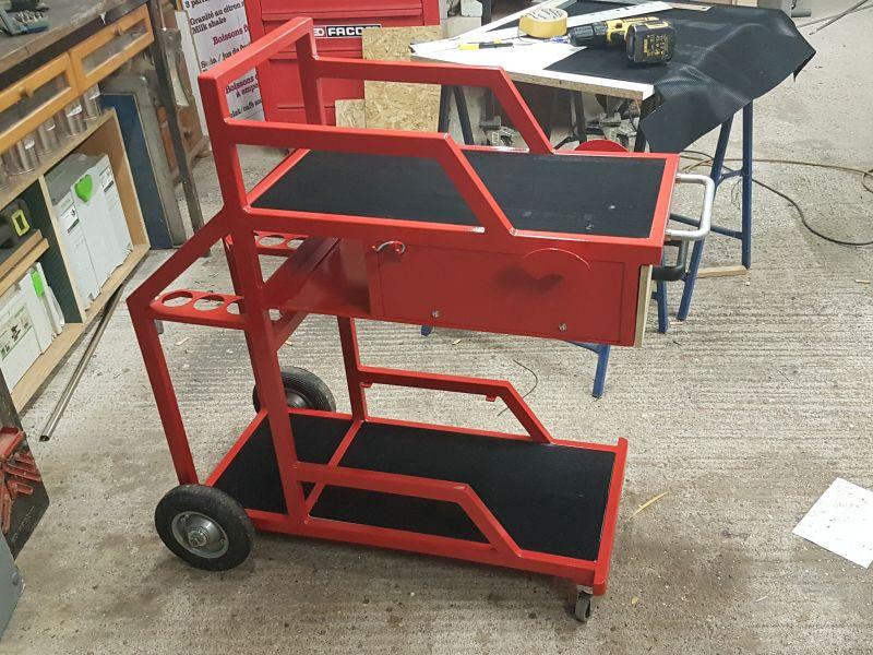 [Terminé] - Fabrication de 2 chariots pour poste à souder 114