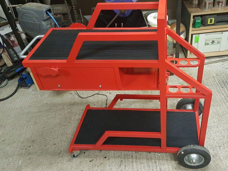 [Terminé] - Fabrication de 2 chariots pour poste à souder 116