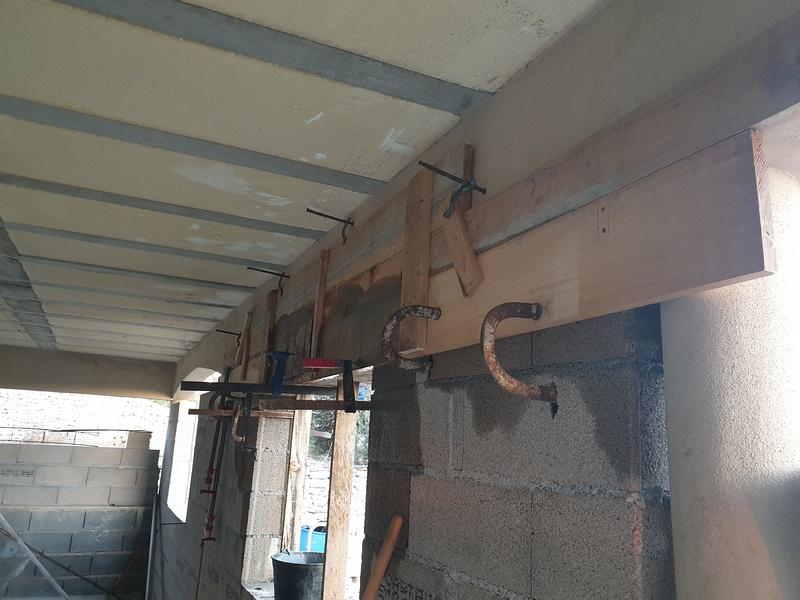 [Maçonnerie] Extension de mon atelier, Je vois le bout du tunnel ... 034