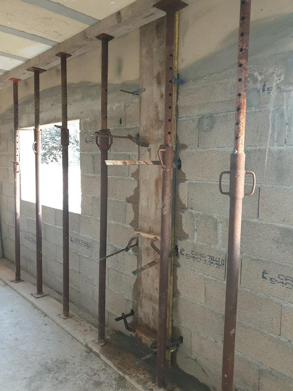 [Maçonnerie] Extension de mon atelier, Je vois le bout du tunnel ... 068