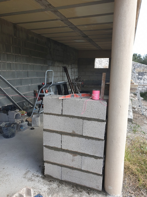 [Maçonnerie] Extension de mon atelier, Je vois le bout du tunnel ... 083