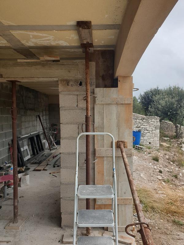 [Maçonnerie] Extension de mon atelier, Je vois le bout du tunnel ... 092