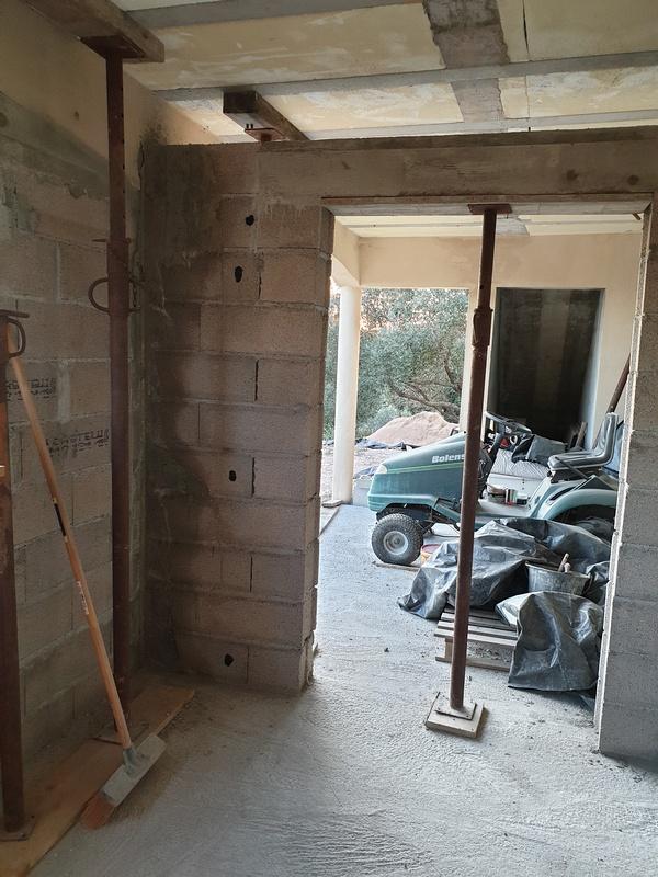 [Maçonnerie] Extension de mon atelier, Je vois le bout du tunnel ... 097