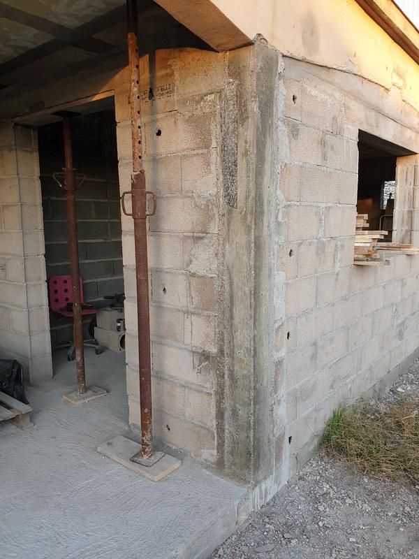 [Maçonnerie] Extension de mon atelier, Je vois le bout du tunnel ... 098