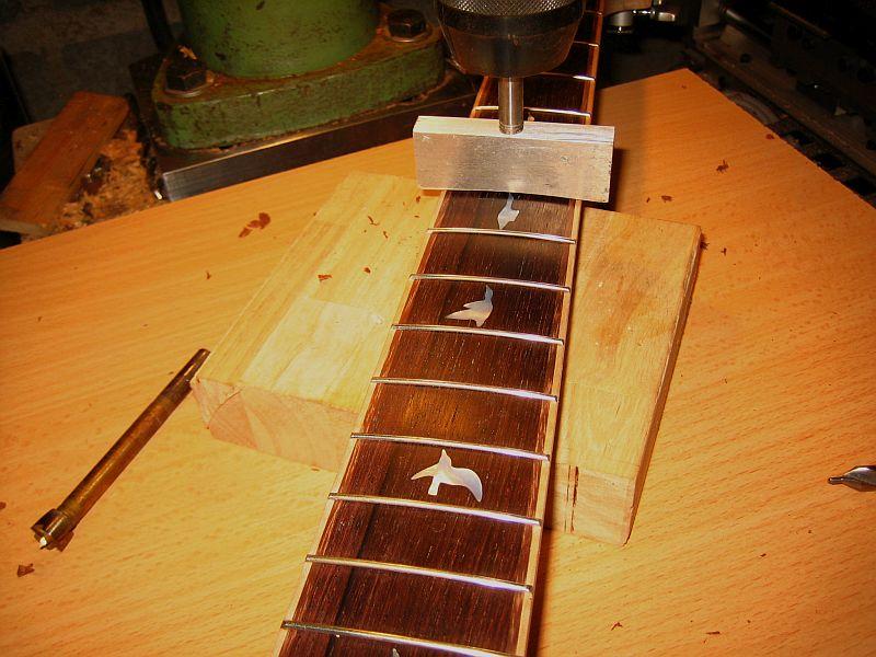 Fabrication d'une guitare Electrique : Terminée le 26/12/2014 - Page 2 140