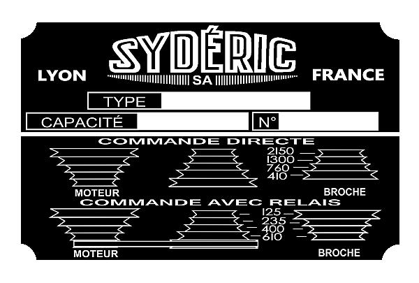 [Restauration] Fraiseuse Sydéric SF120UB (Terminée) - Page 5 Plaquemoteur2