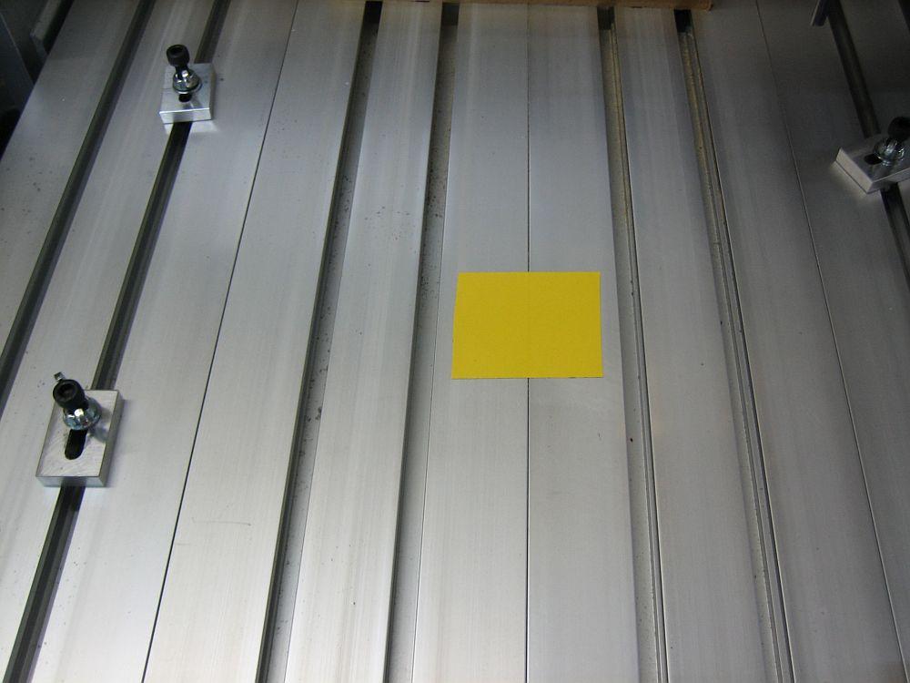 [CNC] Fabrication de mousses de calage d'outils pour servante (CNC 6040 數控銑床 ;) ) 01