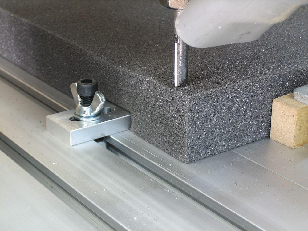 [CNC] Fabrication de mousses de calage d'outils pour servante (CNC 6040 數控銑床 ;) ) 03