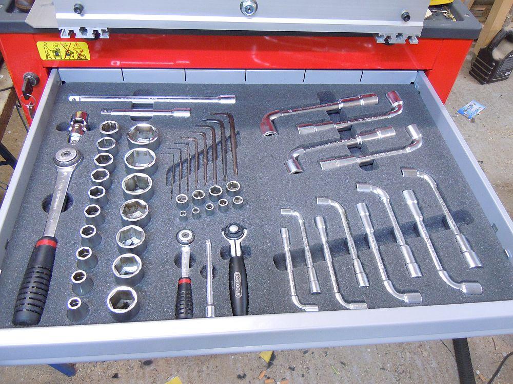 [CNC] Fabrication de mousses de calage d'outils pour servante (CNC 6040 數控銑床 ;) ) Final2