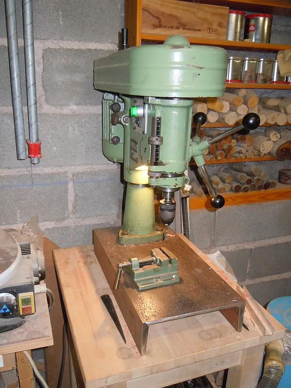 Récup Perceuse Cincinati Type PM de 1969 Vue5