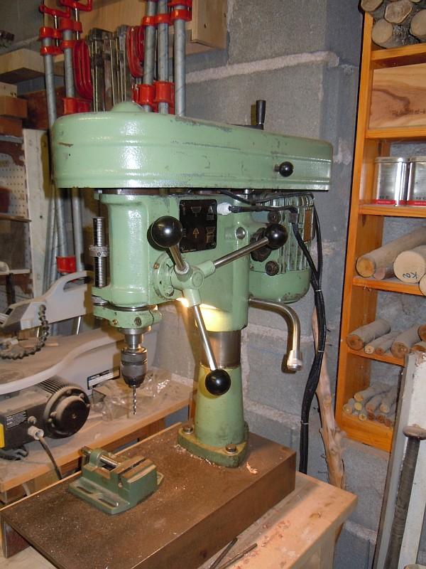 Récup Perceuse Cincinati Type PM de 1969 Vue6
