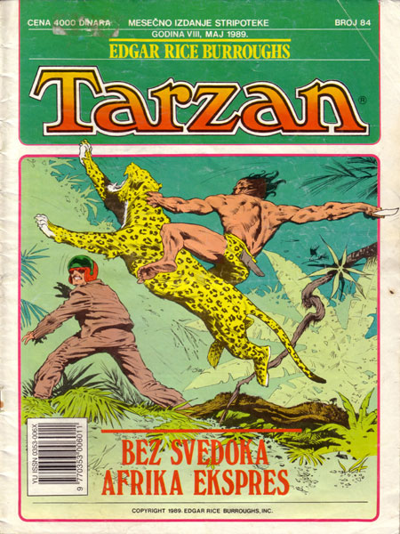 Tarzan, gospodar džungle TAR_MP_84