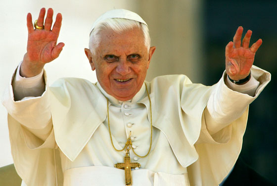 Pope Resigns – First Time since 1415 – 11 February 2013 Pope-benedict