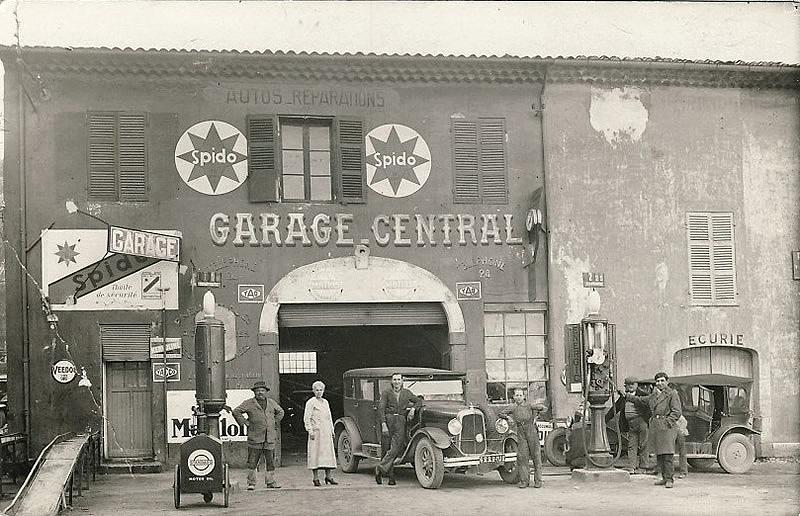Garages anciens - Page 2 10-GARAGE-CENTRAL-avenue-jean-Jaures-1932-old-garage-ancien