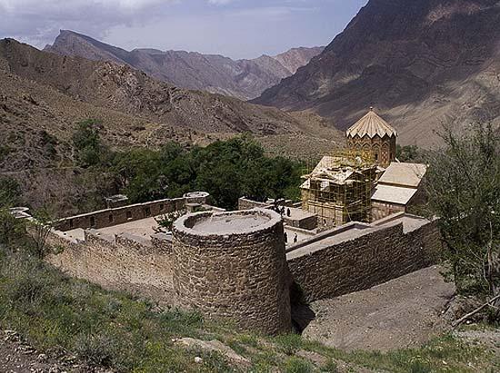 The United States of the Solar System: A.D. 2133 (Book Two) Iran-jolfa-saint-stephanos-armenian-monastery-near-view