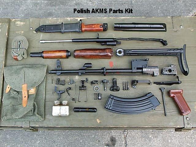 بندقية الاقتحام الآلية (كلاشينكوف) AK_PolishAKMSKit