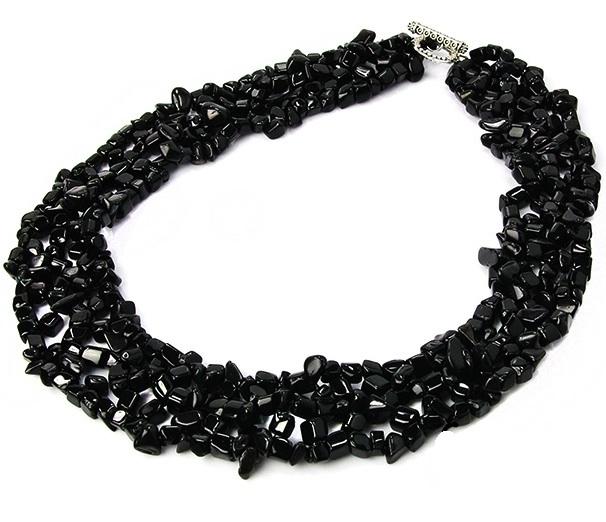 Los Huesos de un Rey Onyx-stone-collar-choker-necklace-chip-onyx-stone-1884-p