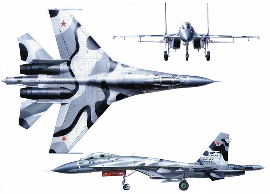 موسوعة اجيال الطائرات المقاتلة واشهر طائرات كل جيل - صفحة 11 Su-30KI_04