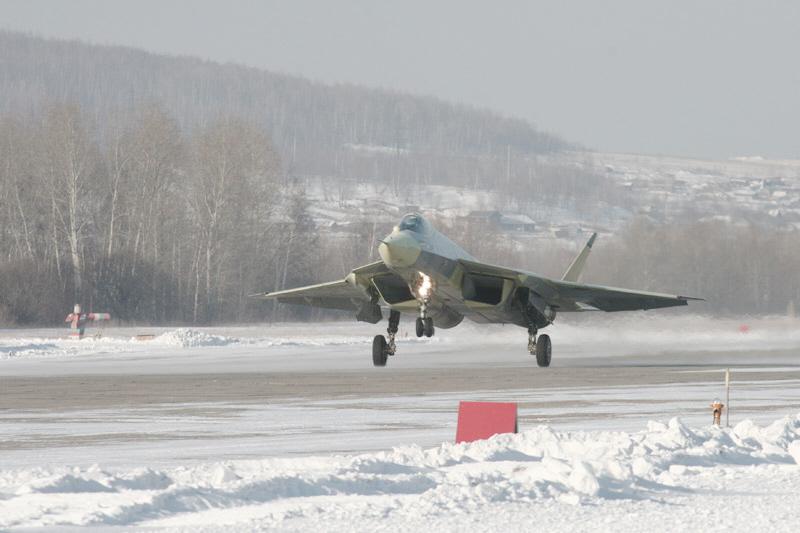 المقاتلة الروسية ( T-50 ) أو ( Pak - Fa ) T-50_04