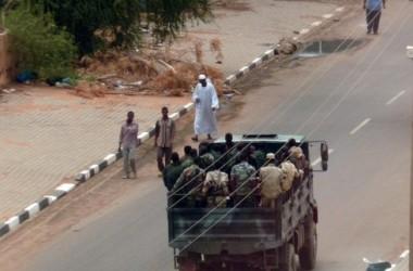 أحداث جارية  Sudanese_members_of_the_security_forces-e0123