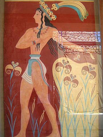 L'Arte del Mondo Antico Cnosso%20il%20principe%20dei%20gigli