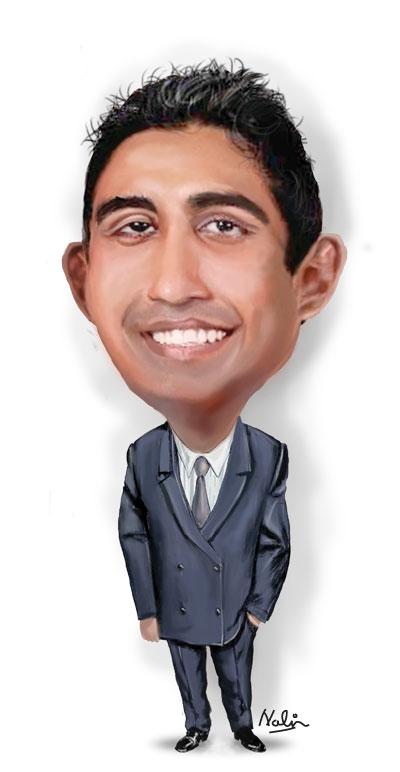 Sri Lanka: Sunday Times - Investigative Report praises SLEF's 'Business Basil' - For Correct Economic Prediction on Arjun Aloysius' Bond Scam  AloysiusCaricature