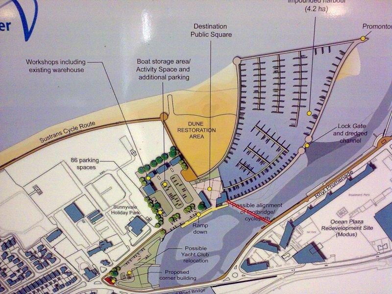 Proposed Rhyl Harbour Development Plans 13072009499