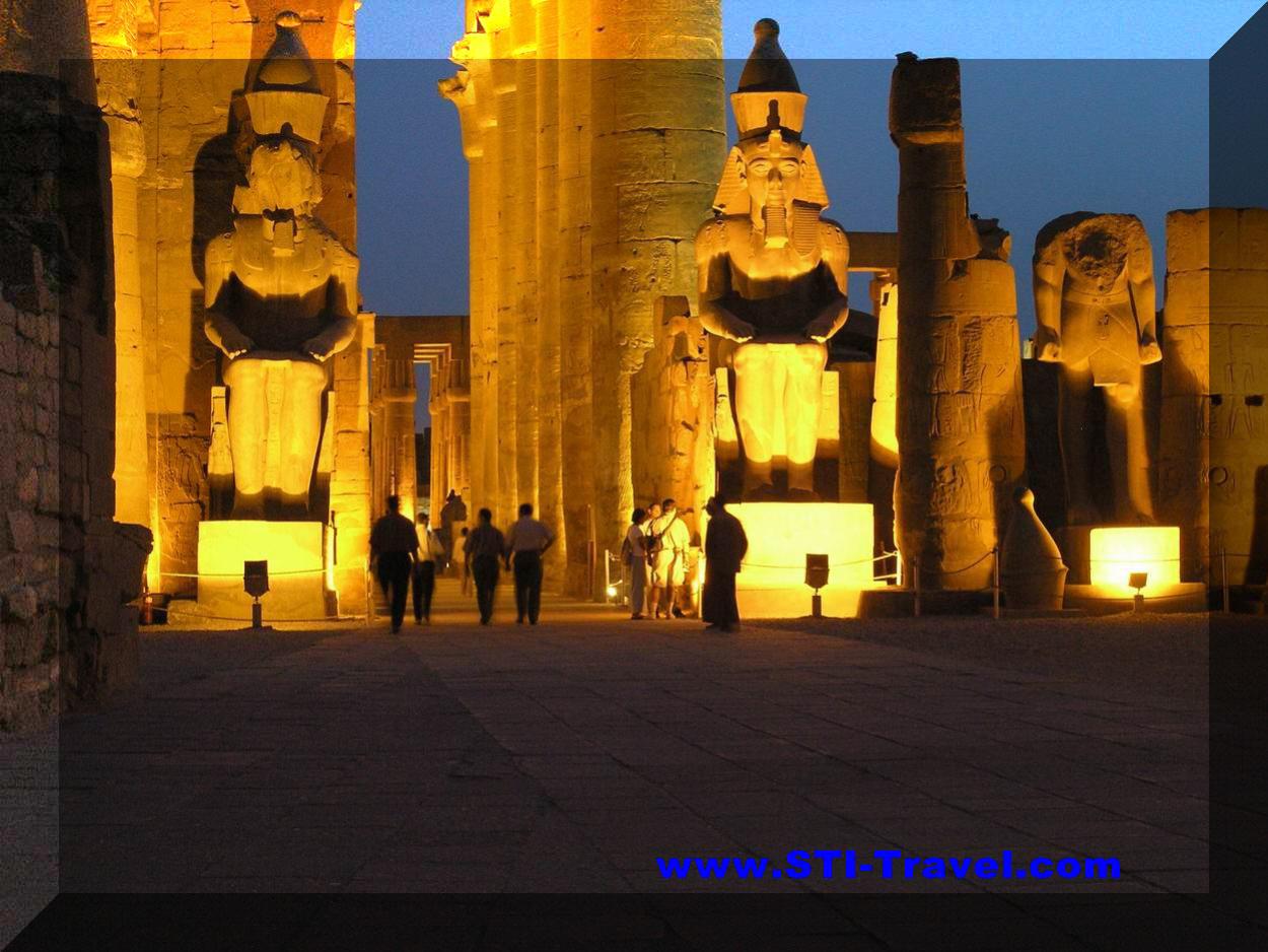 Egypt Tourism's Photos Egypt_Luxor_Karnak_Temple_view_bynight_STI
