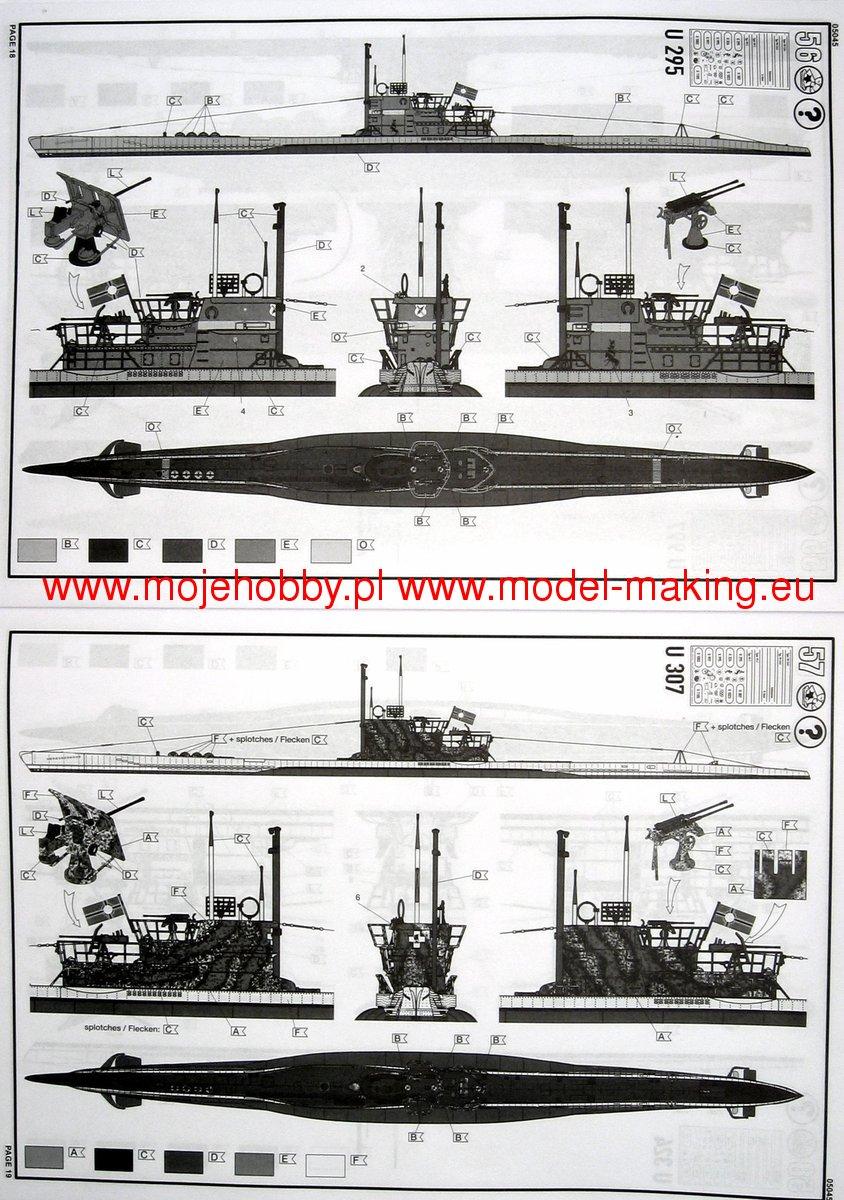 [revell] U-Boot typ VII C/41       au 1/72° 1192_2_rev5045_8