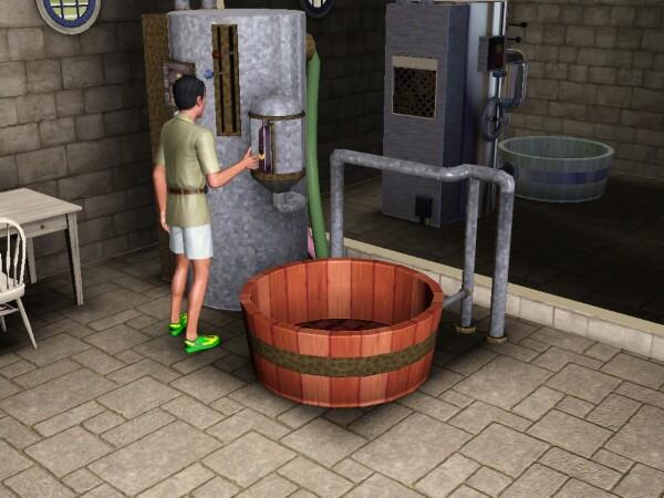 Je veux un Sims P2C-bottle