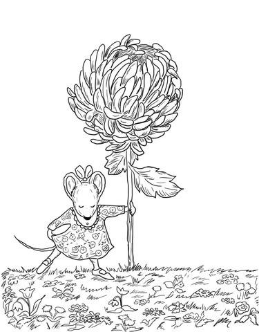 LFI : La France insoumise se lance Chrysanthemum-coloring-page