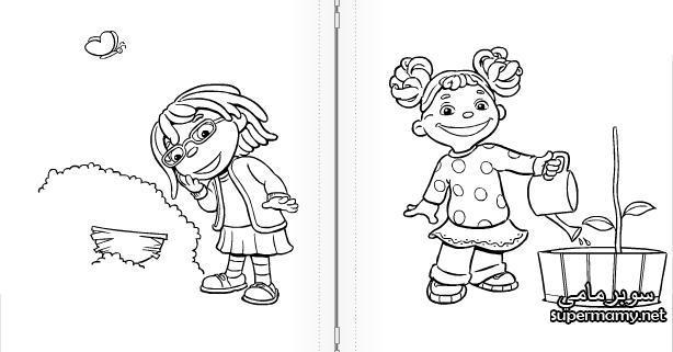 صور تلوين شخصيات كرتون زيد والعلوم (زيد فتى العلوم والاصدقاء )  Supermamy-443845db98