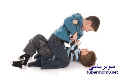 وقفة مع الطفل العدواني Supermamy-997e1392be