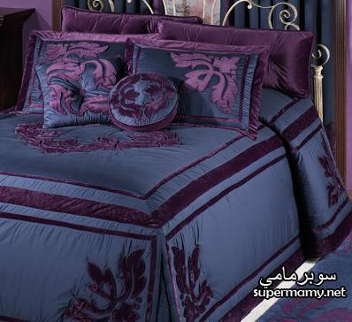 ديكورات مفارش سرير بالوان رائعه Supermamy3c1c9a2d9b